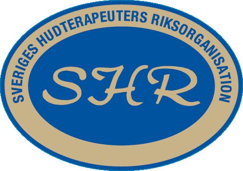Logotyp för Sveriges hudterapeuters riksorganisation